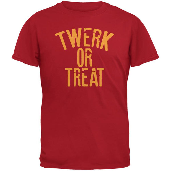 Halloween Twerk Or Treat Red Adult T-Shirt
