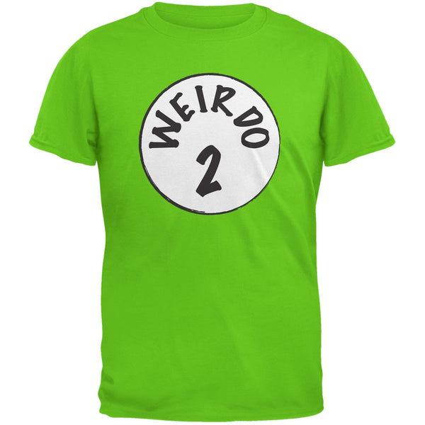 Halloween Weirdo 2 Two Electric Green Youth T-Shirt
