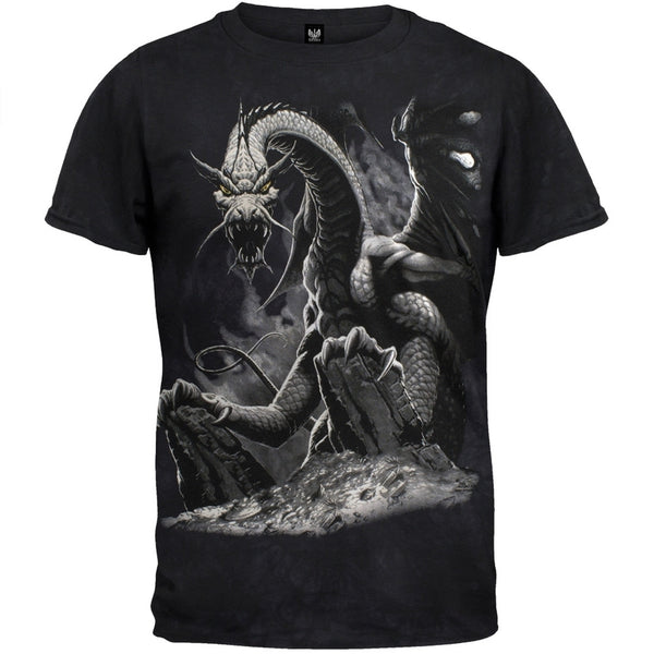 Black Dragon Tie Dye T-Shirt
