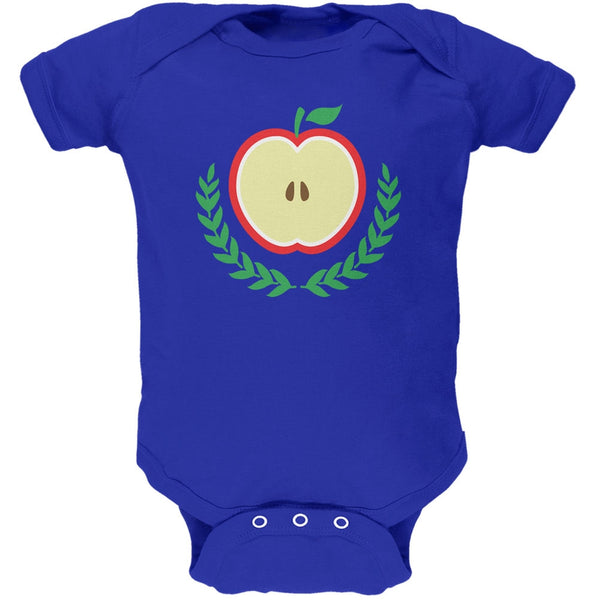 Baby Shower Theme Apple of My Eye Royal Soft Baby One Piece