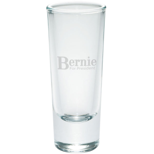 Election 2016 - Bernie Sanders for President Etched Shot Glass Shooter