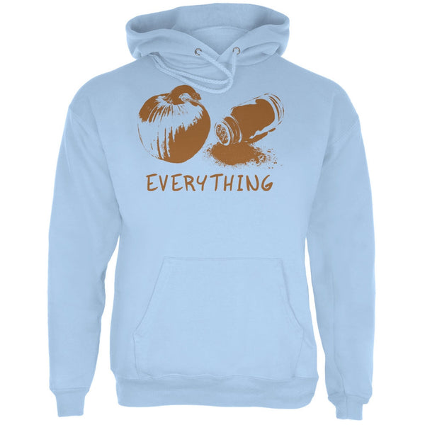 Pumpkin Spice Everything Light Blue Adult Hoodie