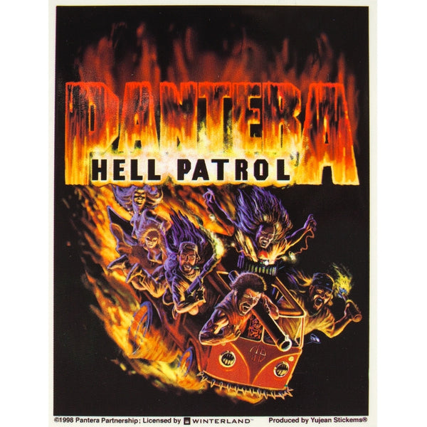 Pantera - Hell Patrol Sticker