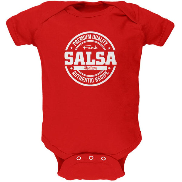 Halloween Salsa Costume Red Soft Baby One Piece