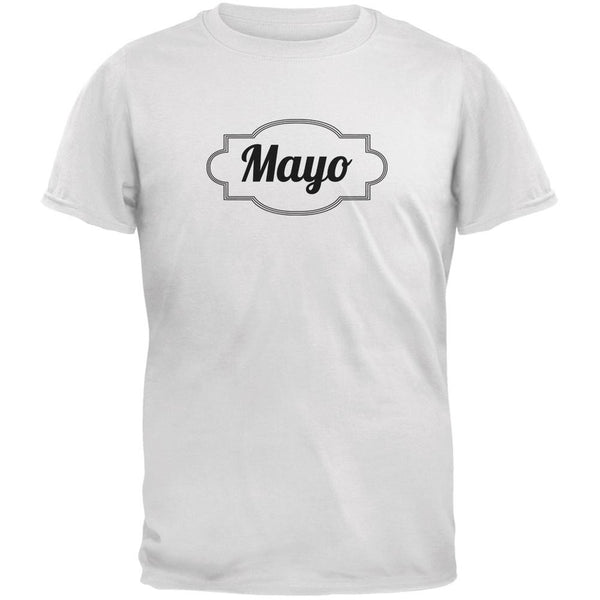 Halloween Mayonnaise Costume White Adult T-Shirt