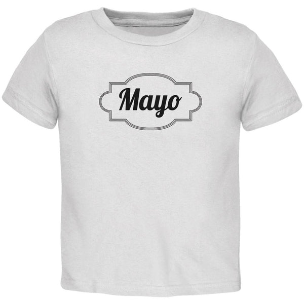 Halloween Mayonnaise Costume White Toddler T-Shirt