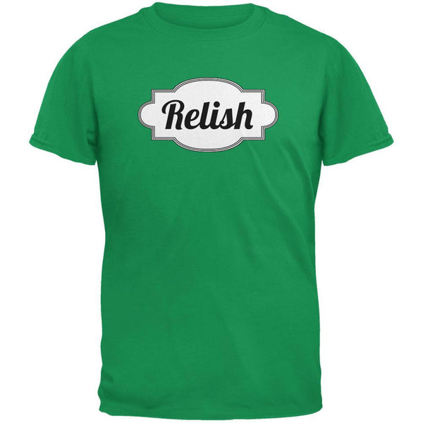 Halloween Relish Costume Irish Green Adult T-Shirt