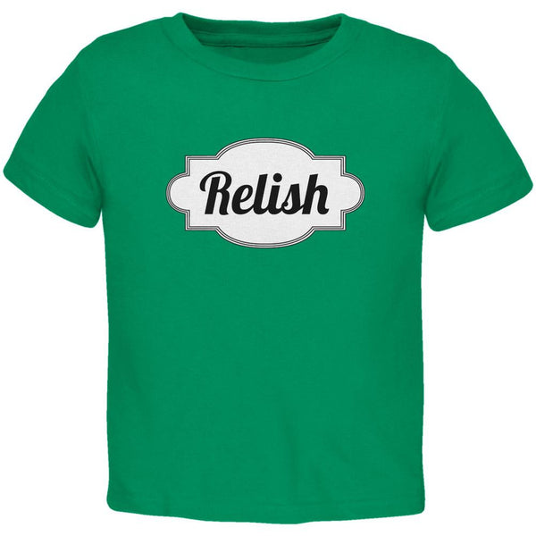 Halloween Relish Costume Kelly Green Toddler T-Shirt