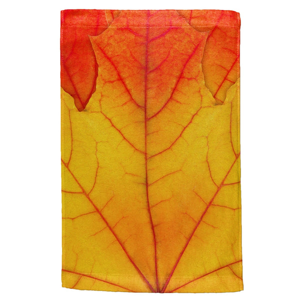 Autumn Fall Leaf All Over Hand Towel