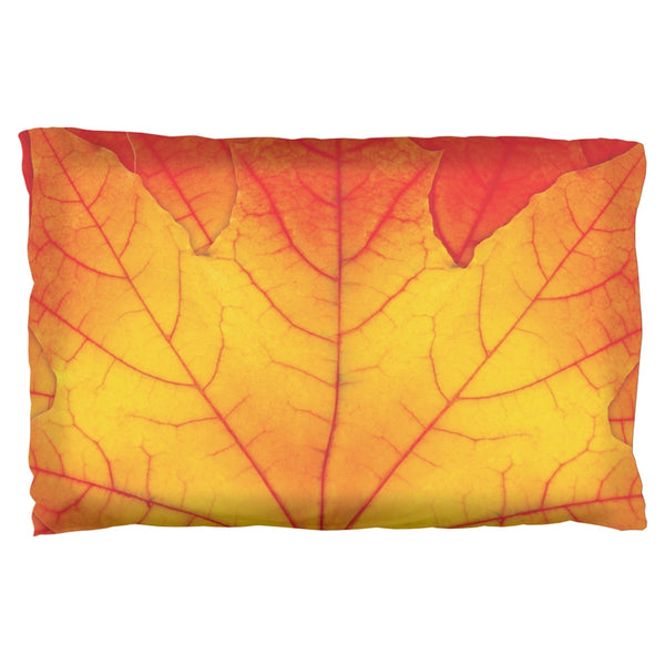 Autumn Fall Leaf Pillow Case