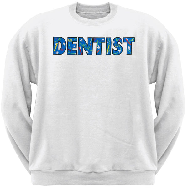 Dentist Colorful Logo Adult Sweatshirt