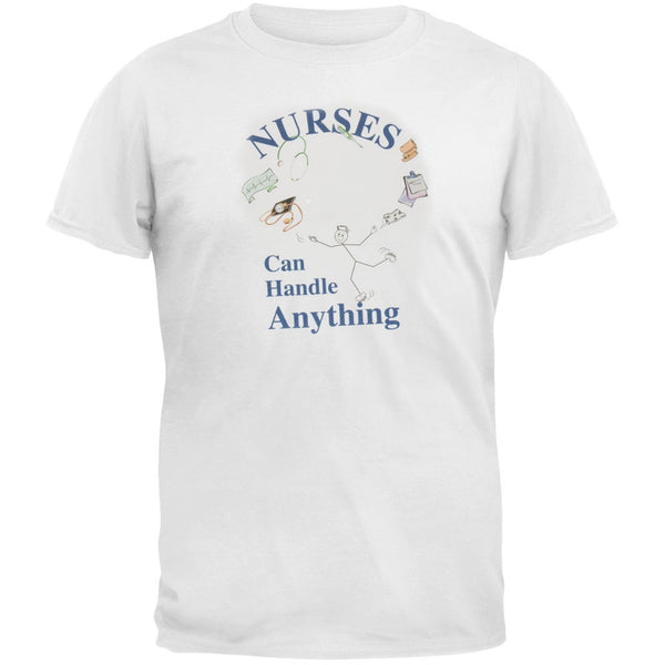 Juggling Nurse Adult T-Shirt