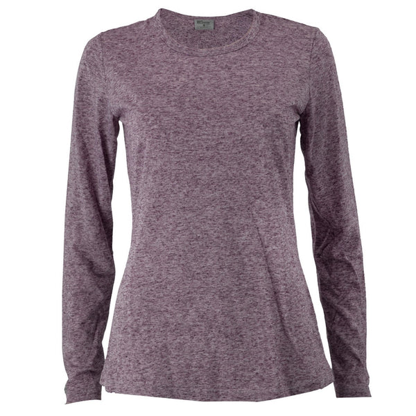 Grey's Anatomy - Speckled Wine Women's Long Sleeve T-Shirt