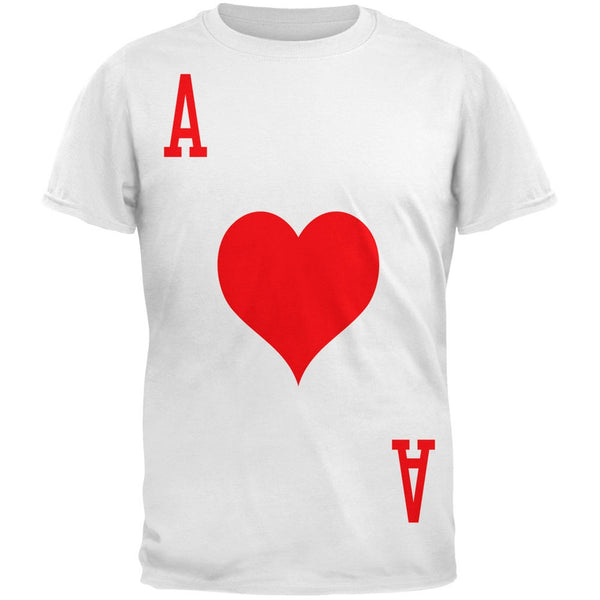 Halloween Ace of Hearts Card Soldier Costume All Over Adult T-Shirt