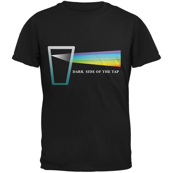 Dark Side of the Tap Black Adult T-Shirt