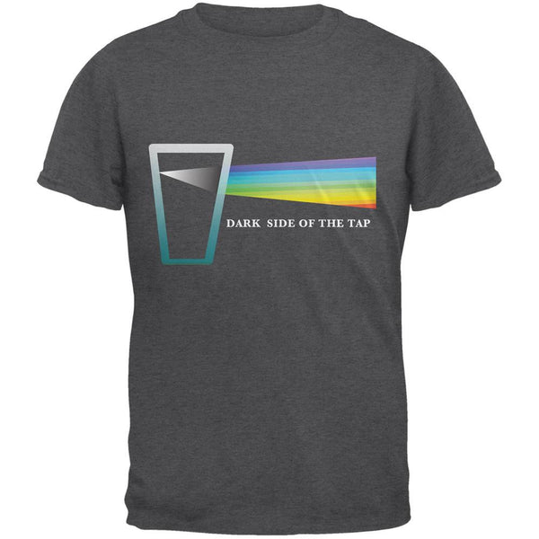Dark Side of the Tap Dark Heather Adult T-Shirt