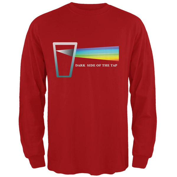 Dark Side of the Tap Red Adult Long Sleeve T-Shirt