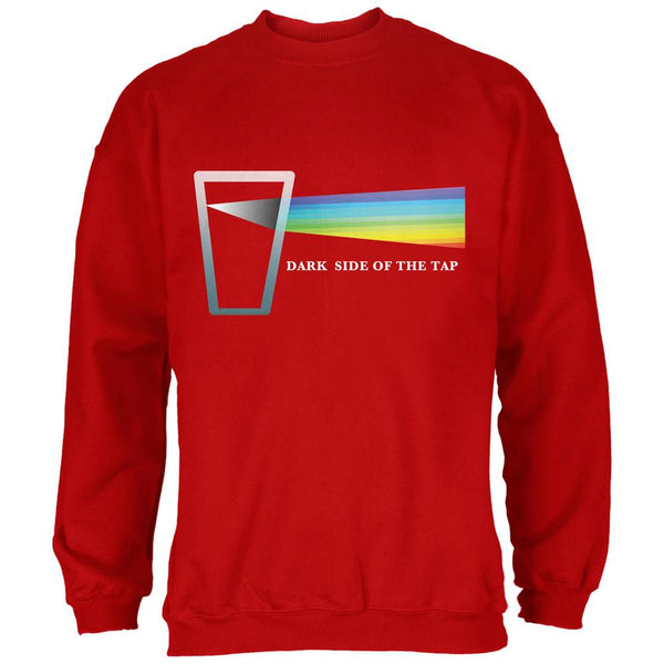 Dark Side of the Tap Red Adult Sweatshirt