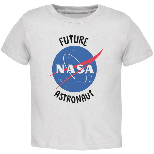 Future NASA Space Astronaut White Toddler T-Shirt