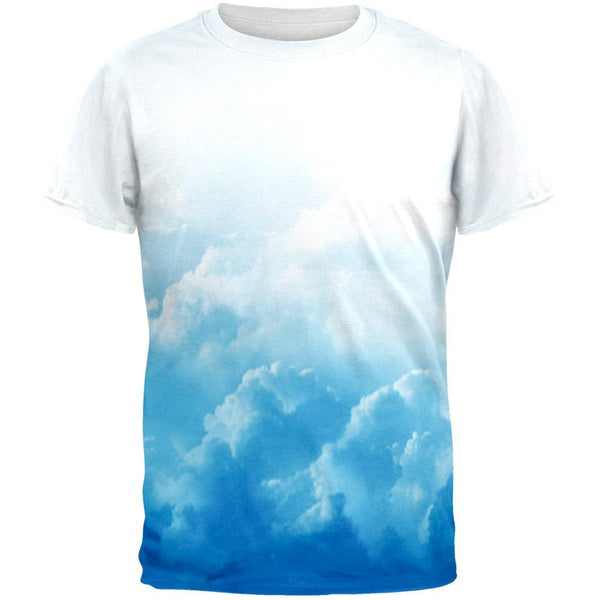 Clouds All Over Adult T-Shirt