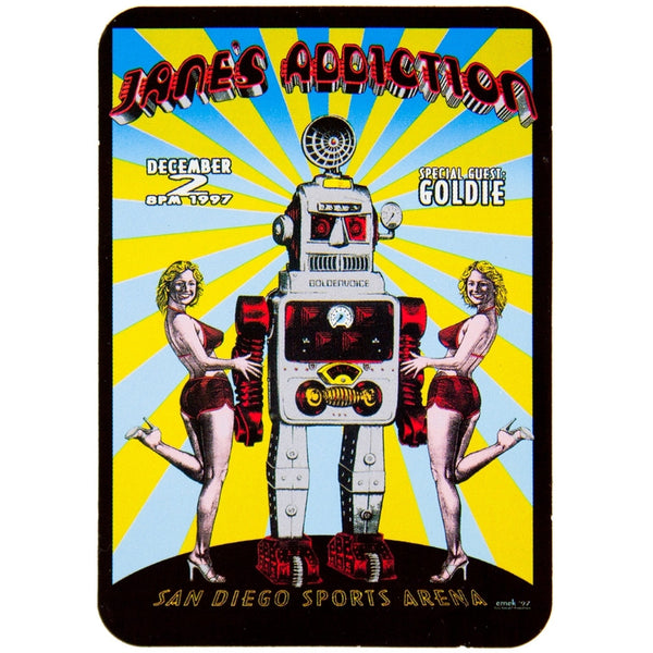 Jane's Addiction - Robot Sticker