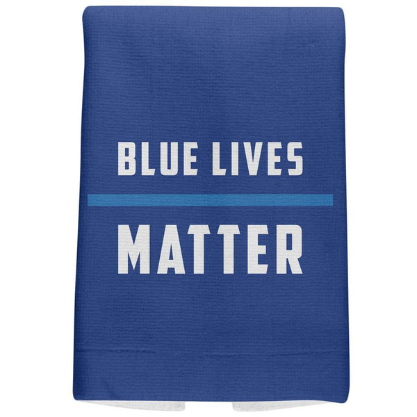 Police Blue Lives Matter Thin Blue Line Royal All Over Sport Towel