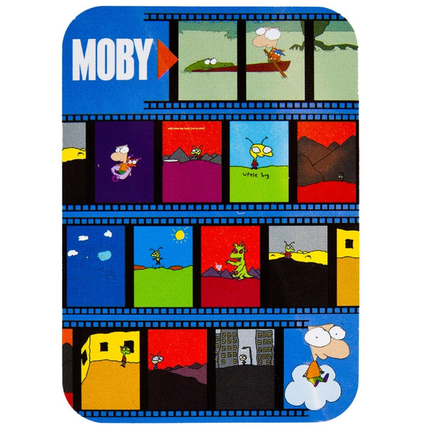 Moby - Cartoon - Decal