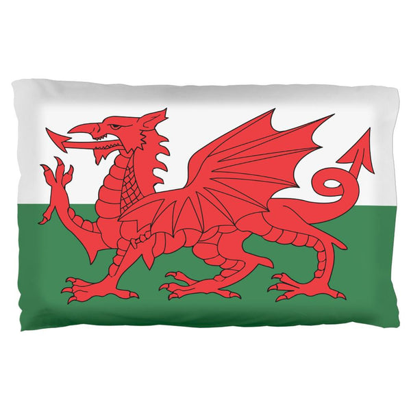 Welsh Flag Pillow Case