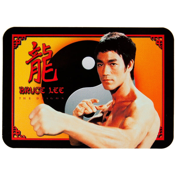 Bruce Lee - Dragon Yin Yang - Decal