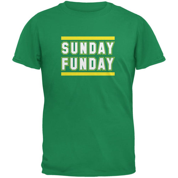 Sunday Funday Green Bay Irish Adult T-Shirt