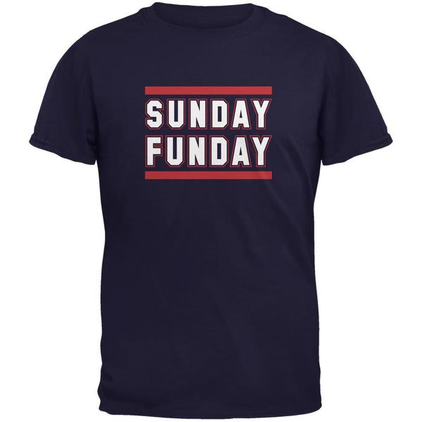 Sunday Funday Houston Navy Adult T-Shirt