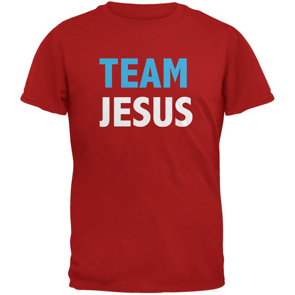 Team Jesus Red Adult T-Shirt