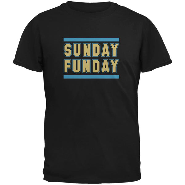 Sunday Funday Jacksonville Black Adult T-Shirt
