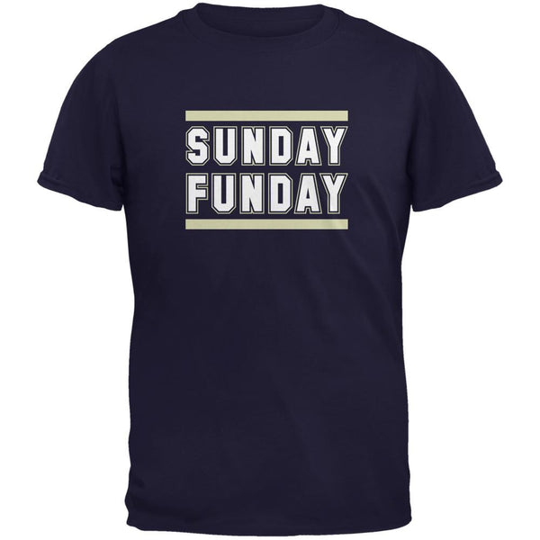 Sunday Funday St Louis Navy Adult T-Shirt