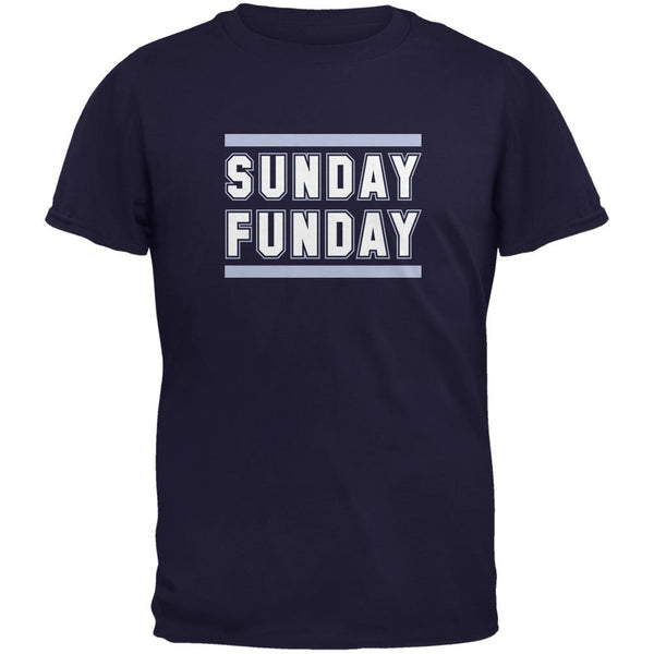 Sunday Funday Tennessee Navy Adult T-Shirt