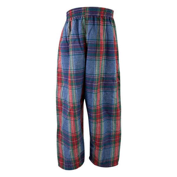 Plaid Flannel Youth Loungepants