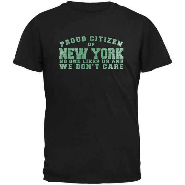 Proud No One Likes New York Black Youth T-Shirt