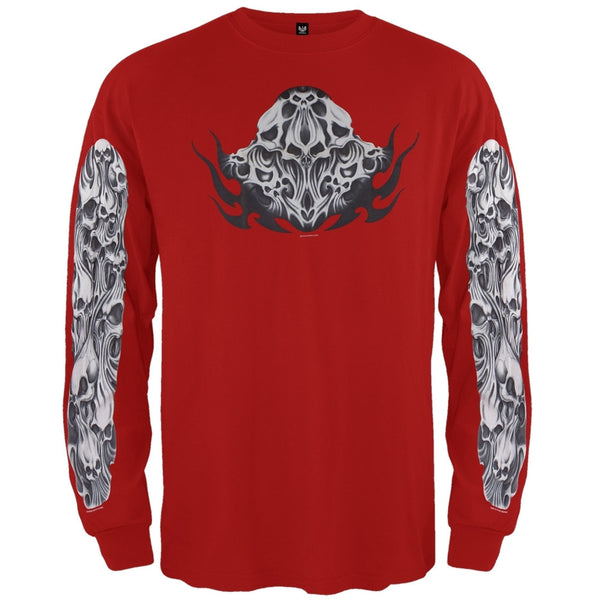 Gummy Skulls Long Sleeve T-Shirt