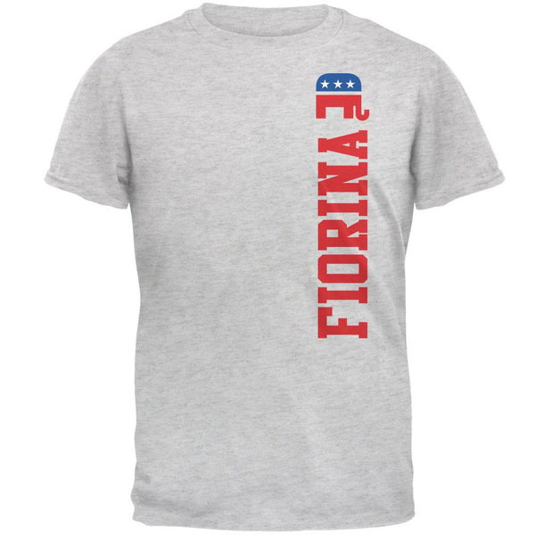Election 2016 Team Carly Fiorina Light Heather Grey Adult T-Shirt