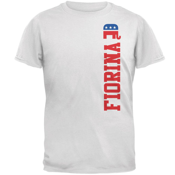 Election 2016 Team Carly Fiorina White Adult T-Shirt