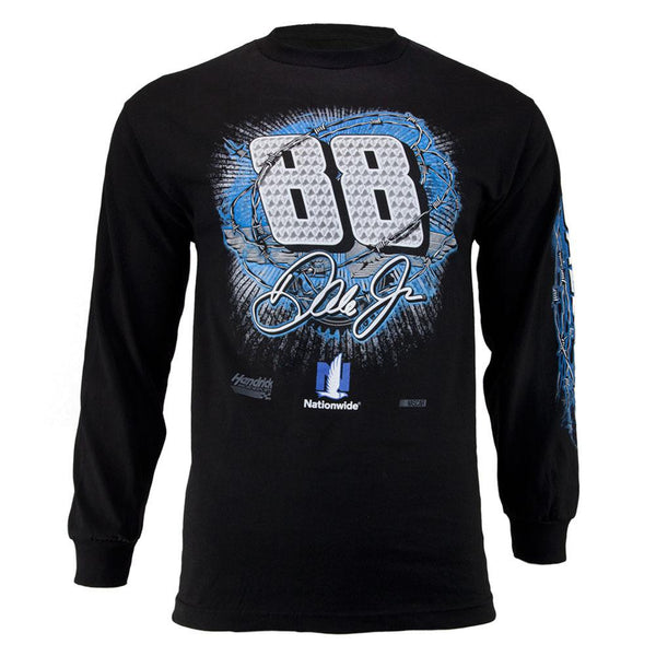 Dale Earnhardt Jr. - 88 Gear Up Adult Long Sleeve T-Shirt