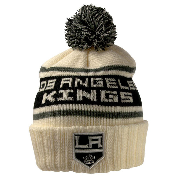 Los Angeles Kings - Logo Pillow Line Adult Pom Pom Knit Hat