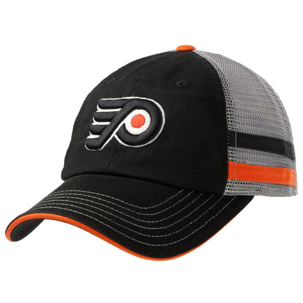 Philadelphia Flyers - Logo Foundry Grey Adult Adjustable Baseball Cap