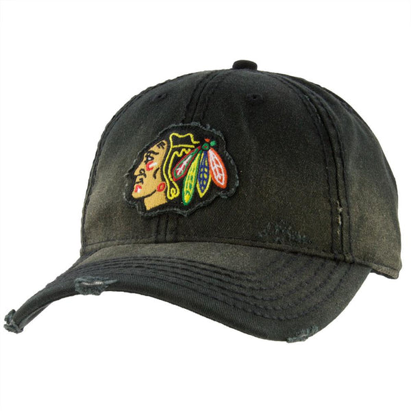 Chicago Blackhawks - Nero Logo Adult Adjustable Baseball Cap