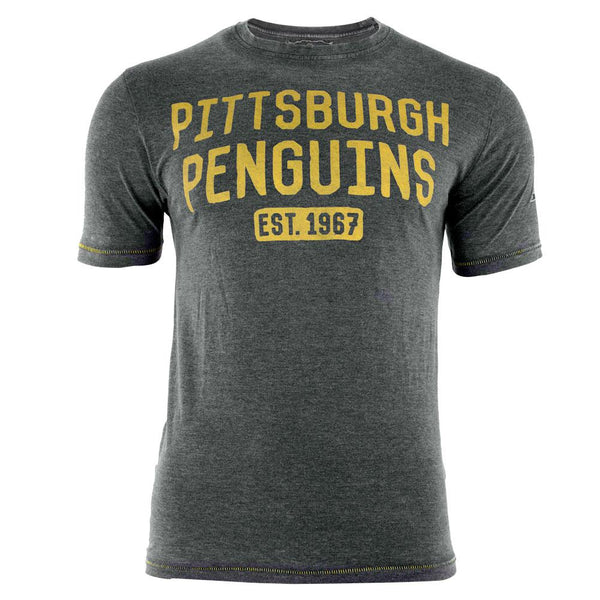 Pittsburgh Penguins - Est 1967 Hoist Premium Adult T-Shirt