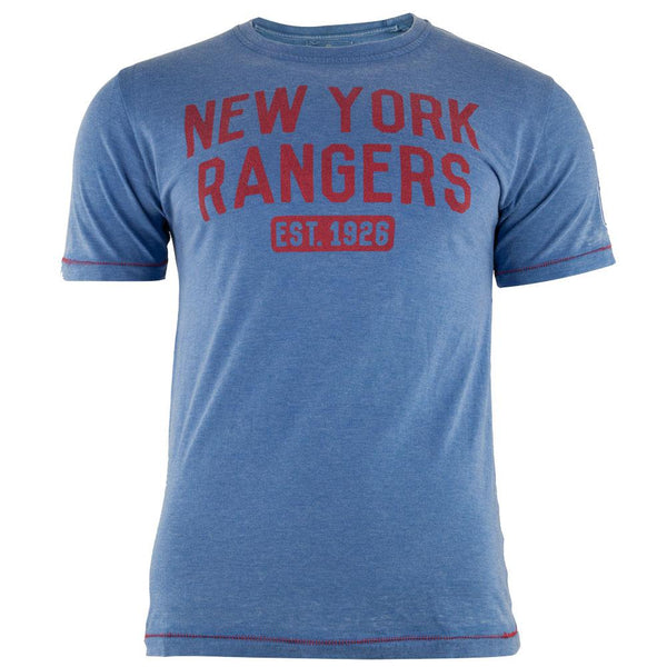 New York Rangers - Est 1926 Hoist Premium Adult T-Shirt