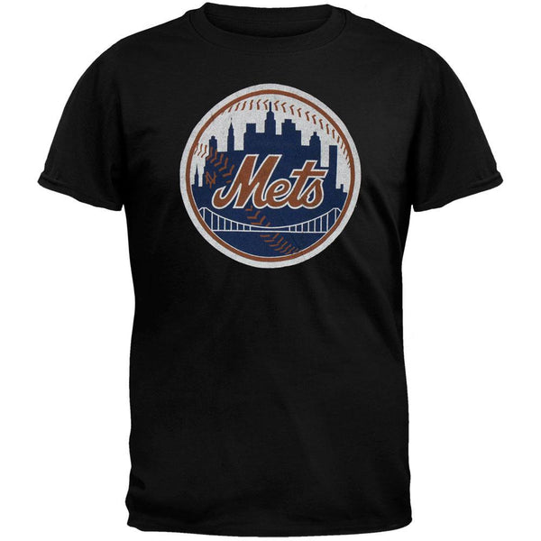 New York Mets - City Ball Logo Youth Soft T-Shirt