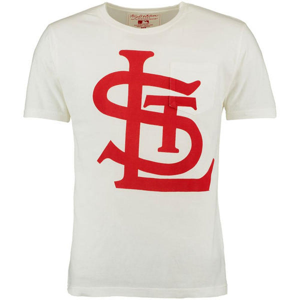 St Louis Cardinals - Logo The Heavy Vintage Pocket Adult T-Shirt