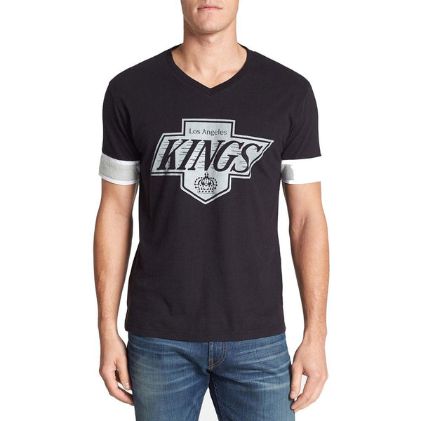 Los Angeles Kings - Logo Hat Trick Adult Jersey T-Shirt