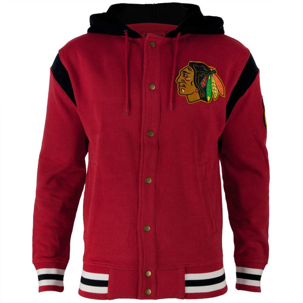 Chicago Blackhawks - Logo Stagger Adult Jacket